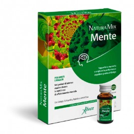 Aboca Natura Mix Advanced Mente concentrato fluido, 10 flacconcini