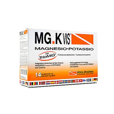 MG.KVIS Magnesio-Potassio, 14 bustine gusto Arancia