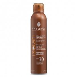 Nature's Solare Spray Trasparente SPF 30, 200 ml