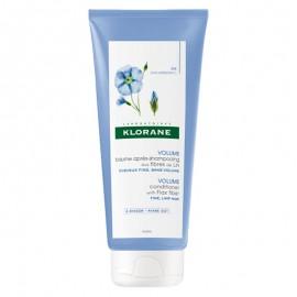 Klorane Balsamo dopo shampoo alle fibre di Lino, 200 ml