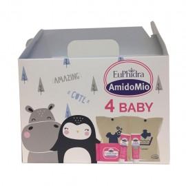 Euphidra AmidoMio 4 Baby - con Pochette Porta Cambio