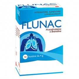 Aqua Viva Flunac N-acetil-cisteina e Bromelina, 14 bustine