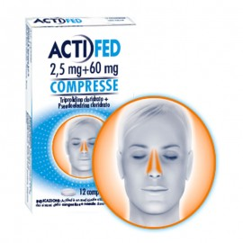 Actifed Compresse 5 mg +60 mg, 12 compresse