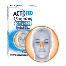Actifed Compresse 5 mg +60 mg, 12 compresse
