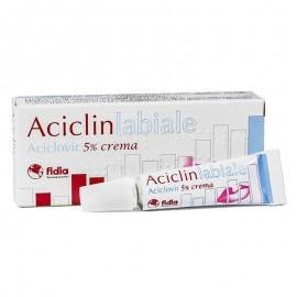 Fidia Aciclinlabiale 5% crema, tubo da 2 g