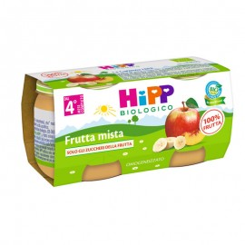Hipp Bio Omogeneizzato Frutta Mista, 2x80 gr