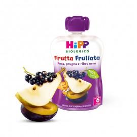 Hipp Bio Frutta Frullata Pera, Prugna e Ribes Nero, 90 gr