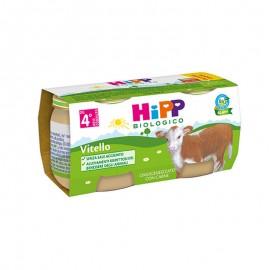 Hipp Bio Omogeneizzati Carne Vitello, 2x80 gr