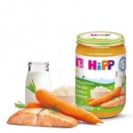 Hipp Bio Pappa Pronta Riso con Carote e Salmone, 220 gr