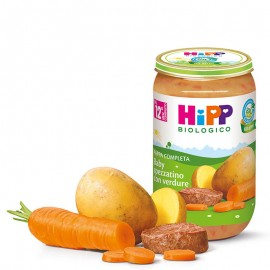 Hipp Bio Pappa Pronta Baby spezzatino con verdure, 250 gr