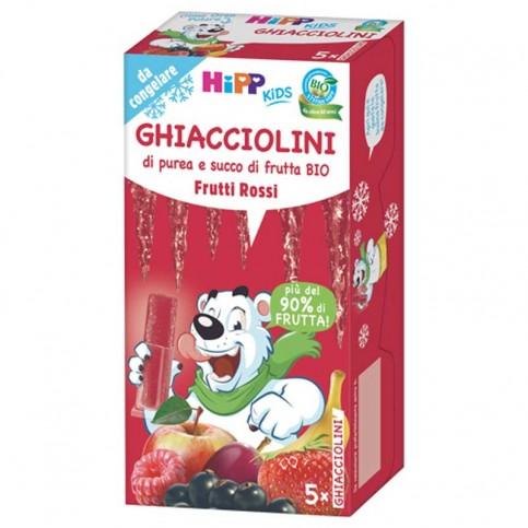 Hipp Bio Ghiacciolini Frutti Rossi, 5x30 gr