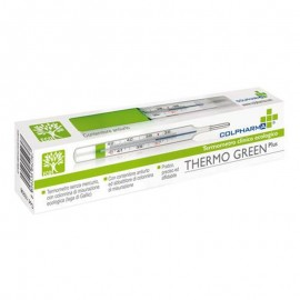Colpharma Thermo Green Plus, 1 termometro senza mercurio