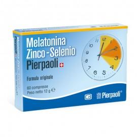 Melatonina Zinco-Selenio Pierpaoli, confezione da 60 compresse