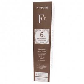 Phytamin F+E Olio Solare Spray Corpo SPF 6 con acceleratore di abbronzatura, 125 ml