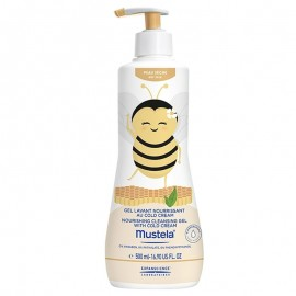 Mustela Detergente Nutriente - Limited Edition - Nina l'Apina, 500 ml