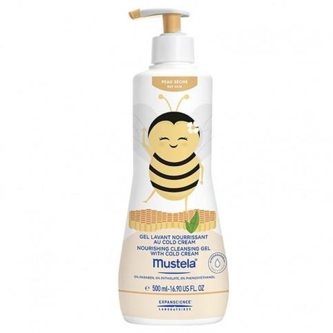Mustela Detergente Nutriente - Limited Edition - Nina l'Apina, 500 ml