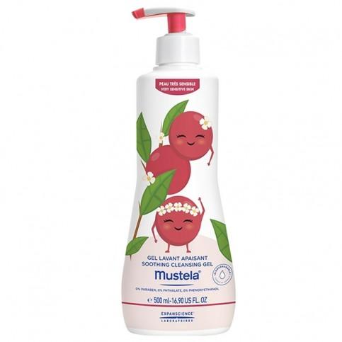 Mustela Gel Detergente Lenitivo - Limited Edition - Sandra la Schisandra, 500 ml