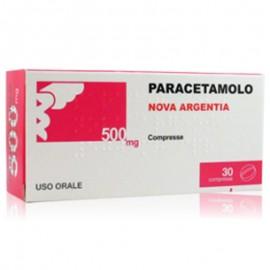 Nova Argentia Paracetamolo 500 mg, 30 compresse