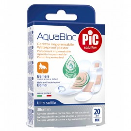PIC Cerotti impermeabili strip AquaBloc,  Mix 20 pezzi