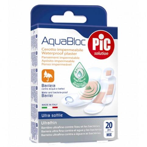 Pic Cerotti impermeabili strip AquaBloc Mix, 20pz