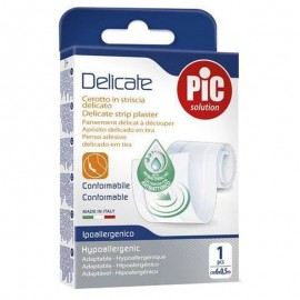 PIC Delicate cerotto in striscia 6x50 cm, 1 Striscia