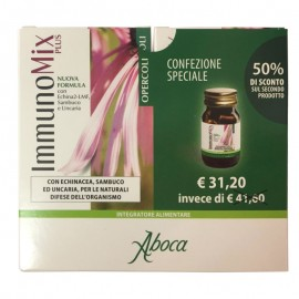 Aboca Immunomix Plus Opercoli Promo 1+1, 100 opercoli da 500 mg