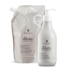 Nature's Doccia-shampoo delicato Dìlatte, eco-ricarica 400 ml