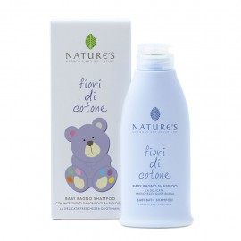 Nature's Baby Bagno Shampoo Fiori di Cotone, 150 ml