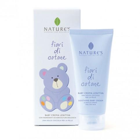 Nature's Baby Crema Lenitiva Fiori di Cotone, 100 ml