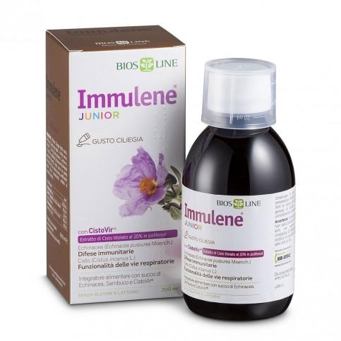 Bios Line Immulene Junior sciroppo con CistoVir, 200 ml