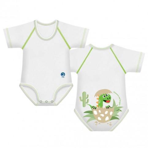 J Bimbi Body Neonato 4 Stagioni in cotone bio Dino Baby, 1 pz