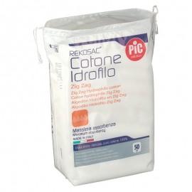 PIC Rekosac Cotone Idrofilo ZigZag, 50 gr