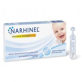 Narhinel Soluzione Fisiologica, 20 flaconi da 5 ml