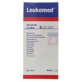BSN Leukomed Medicazione TNT 10 x 25 cm, confezione da 5 pz