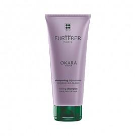 René Furterer Okara Silver Shampoo anti-ingiallimento, 200 ml