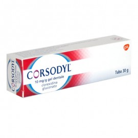 Corsodyl Gel dentale Adulti 1g/100g, 30 gr