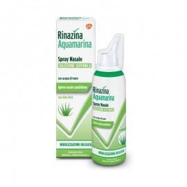 Rinazina Aquamarina Isotonica Aloe Spray Nebulizzazione Delicata, 100 ml