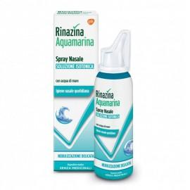 Rinazina Aquamarina Spray Nasale Isotonico Nebulizzazione Delicata, 100 ml