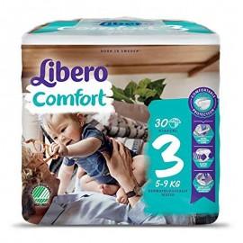 Libero Comfort Taglia 3 5-9 kg, confezione da 30 pannolini