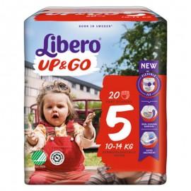 Libero UP&GO Taglia 5 10-14 kg, confezione da 20 pannolini