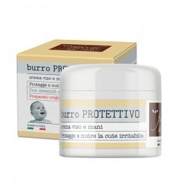Fiocchi di Riso Burro Protettivo Crema Viso Mani, 30 ml