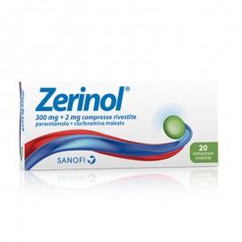 Zerinol 300 mg – 2 mg, 20 compresse rivestite