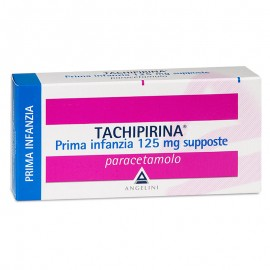 Tachipirina Prima Infanzia 125 mg, 10 supposte