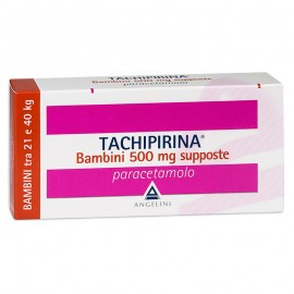 Tachipirina Bambini 500 mg, 10 supposte