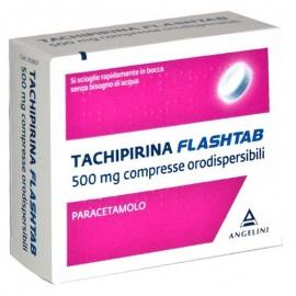 Tachipirina FlashTab 500 mg, 16 compresse orodispersibili