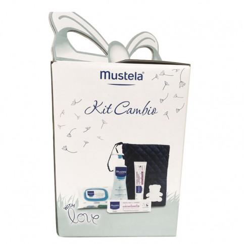 Mustela Kit Cambio con portapannolino e prodotti