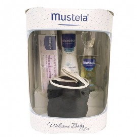 Mustela Welcome Baby Set, con trousse porta ciuccio