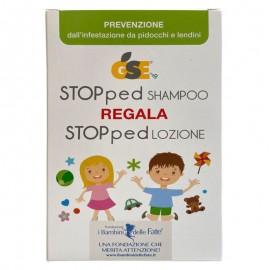GSE STOPped Kit Prevenzione, Shampoo 150 ml + Lozione 100 ml