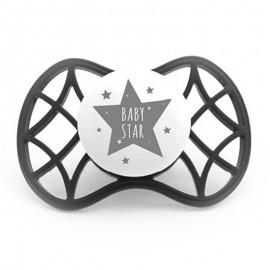 Nuvita Air55 Succhietto Cool simmetrica 0m+, 1 ciuccio nero