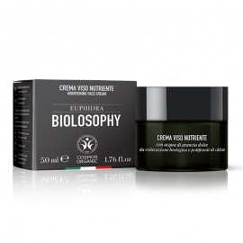 Euphidra Biolosophy Crema Viso Nutriente, vaso da 50 ml